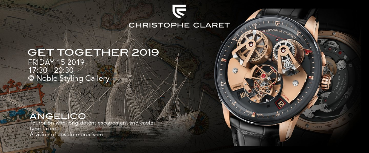 "Christophe Claret ""Get Together 2019"" Invitation"