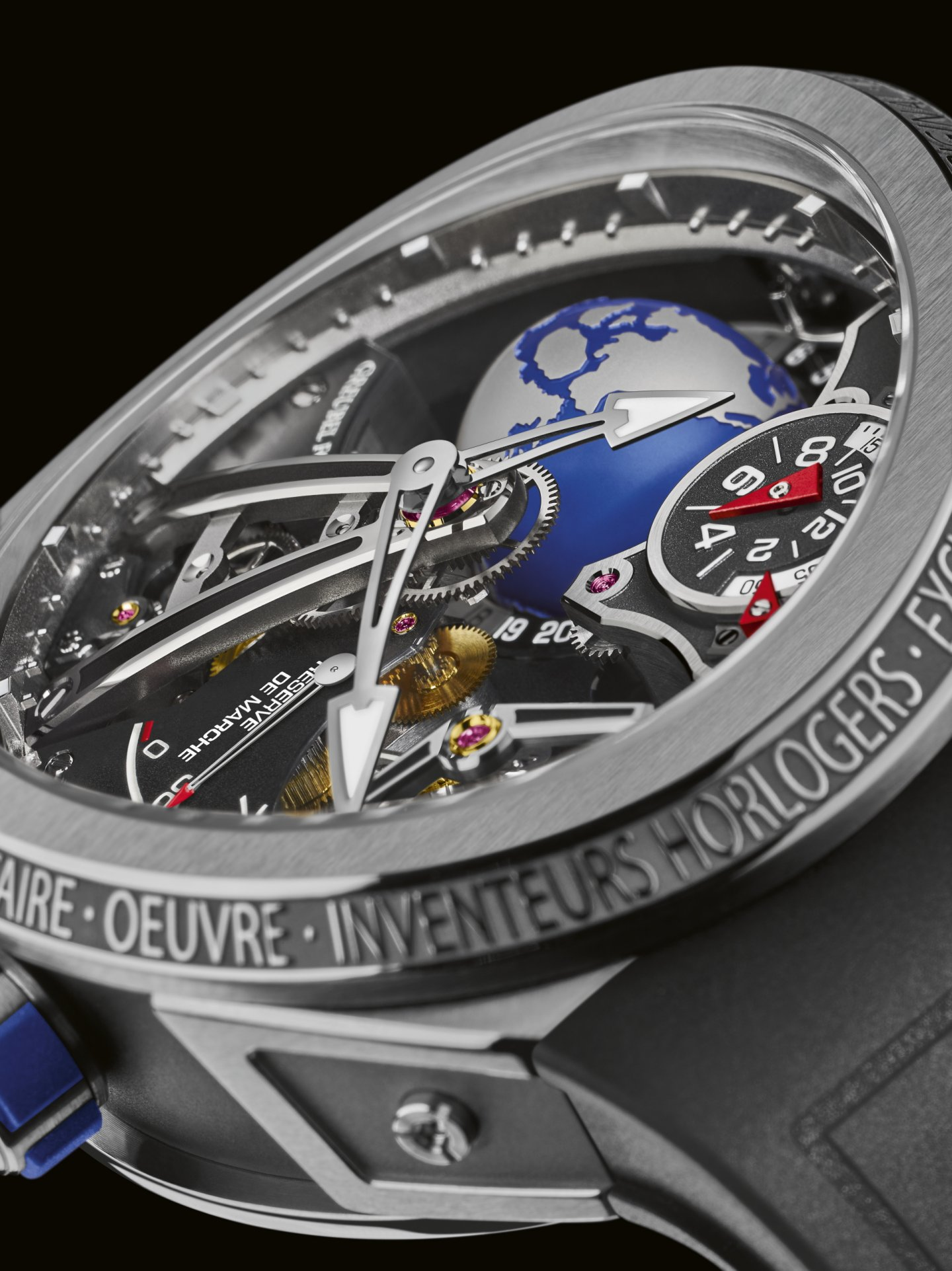 GREUBEL FORSEY 初の防水性能を備えた『GMT スポーツ』