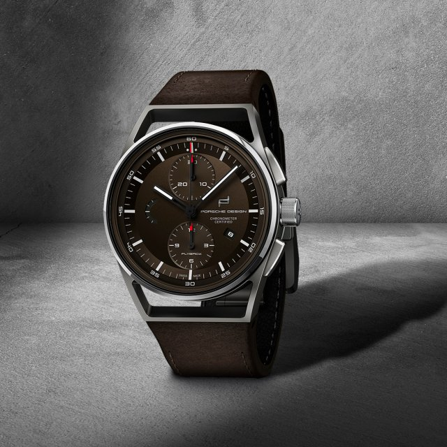 Porsche Design - 1919 Chronotimer Flyback brown & leather